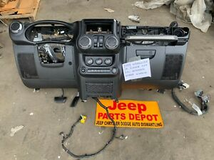 2013 JEEP WRANGLER JK 2 DOOR DASHBOARD DASH AUTOMATIC W/ HEATER CORE OEM