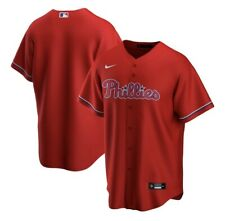 Philadelphia Phillies Nike Red 2020 Replica Team Jersey #T770-PPTS -Large- New