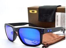 *Oakley*Holbrook*Sunglasses OO9102-52 Matte Black / Ice Iridium Polarized Lens*