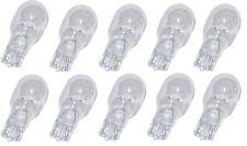 Set of 10, 7 Watt T5 Wedge Bulb, 12 Volt #918 miniature bulb