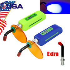 Dental Wireless Cordless Led Cure Curing Light Lamp 2000mw For Clinic Bs300 Us