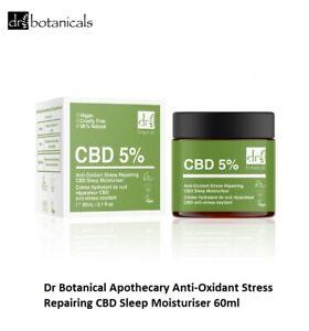 Dr Botanical Apothecary Anti-Oxidant Stress Repairing C8D Sleep Moisturiser 60ml