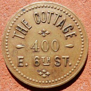 LEADVILLE Colorado TOKEN ⚜️ The Cottage (SALOON)