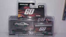 1/64 Greenlight Gone In 60 Seconds Eleanor Ford Mustang & 2015 Ford Chase Car