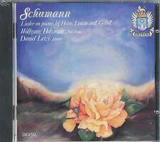 Schumann-CANZONI on Poems, Holzmair, Levy/1991, NEW, SEALED Edelweiss CD!