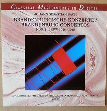 J.S. Bach - Brandenburgische Konzerte 1 bis 3 - CD