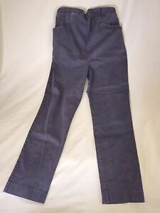 USED IN DUE TIME MATERNITY PANTS SIZE MEDIUM M STRETCH GRAY