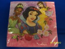 Disney Princess Dreams Fairy-Tale Kids Birthday Party Paper Beverage Napkins
