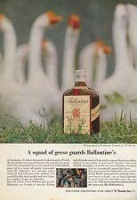 1962 Ballantine Whiskey Scotch Vintage Bottles PRINT AD