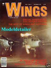 Wings Magazine V11 N6 RAF de Havilland Mosquito, XTB2D-1 Martin AM Mauler B-25J