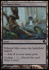 MTG POLLUTED MIRE FOIL EXC - PALUDE INQUINATA - PD - MAGIC