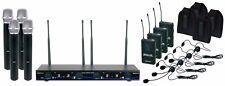 VocoPro 4 Channel Wireless Handheld/Headset/Instrument System - Digital-34-Ultra