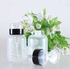 200ml Pump Bottle  WOAU Nail Polish Remover Empty Dispenser Container