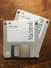 Macintosh ? 2 Disks 1.4Mb (1991) System 6.0.8L  for Classic LC LCII Powerbook100
