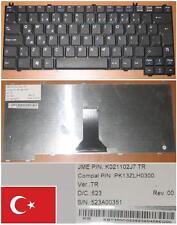 CLAVIER QWERTY TURQUE ACER TM290 PK13ZLH0300 K021102J7 KB.T350C.022