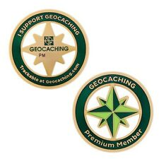Premium Member Collection: Geocoin Geocaching Official Trackable