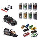 (US STOCK) 27MHz/40MHz RC Mini Coke Can Remote Radio Control Racing RC Car