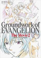 Groundwork of EVANGELION The Movie 2 Art Book Japanese 2002