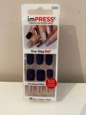 Impress press on Manicure - One-Step Gel - Bells & Whistles - False nails