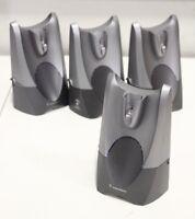 Lot of (4) Plantronics CS50 AWH55+ Wireless Office Headset Base Station Charging
