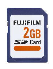 Fujifilm High Quality Fuji 2GB SD Card - 30 Years Warranty!