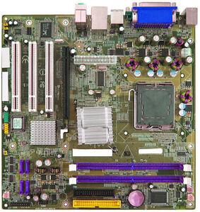 Intel 915GV D-SUB IDE SATA Parallel 3x PCI PCIE x16 LGA775 Micro ATX Motherboard