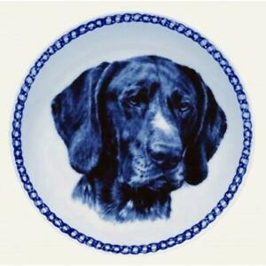 German Shorthaired Pointer - Dog Plate made in Denmark from the finest European