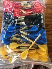 100 Dart Pro Plastic Soft Tip Darts Assorted Colors Pub Bar Darts