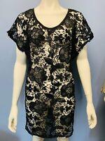 Miken Tank Dress Cover-Up Size Black XL