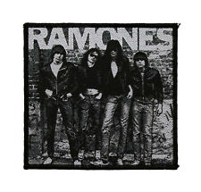 Ramones Woven Sew On Patch - Group Battle Jacket Patch #78