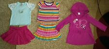 Lot of 5 Baby Toddler Girl Scort Top Tunic Old Navy Place Pink 18-24 month