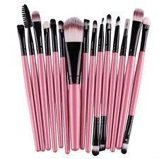 15pcs Makeup Brushes Sets Eye Shadow Foundation Eyebrow Lip Brush Make Up Tool