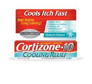 Cortizone 10 Maximum Strength Cooling Relief Gel