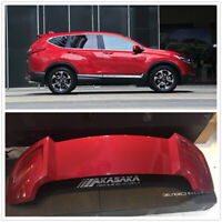 AKASAKA ABS Rear Trunk Spoiler Wing Lip For Honda CRV CR-V 2017 2018 2019 Red MA
