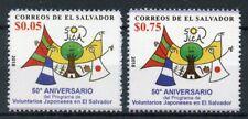 El Salvador 2018 MNH JICA Japan Intl Cooperation Agency 50 Yrs 2v Set Stamps