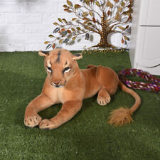 new lovely plush simulation lion toy creative female lion doll gift about 75cm