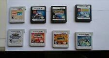 Nintendo DS & 3DS Games - Tested & Working - Pokemon and more (Cartridge Only)