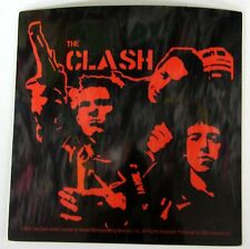 """Clash gun """"police and thieves """" Licensed sticker a very rare find"""