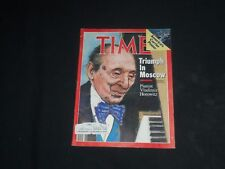 1986 MAY 5 TIME MAGAZINE - PIANIST VLADIMIR HOROWITZ - T 2422