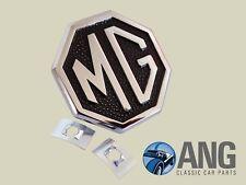 MGB, MGB-GT '75-'80, MIDGET 1500 FRONT BUMPER 'MG' BADGE & SPIRE NUTS (CHA544)