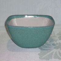 Vintage Glidden Matrix #15 Small Serving Bowl Turquoise Speckled