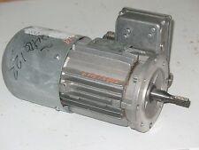 Nord MOTOR  63 S/4CUS BRE5, .16 Hp 3 Ph 230/460 Volt, 1700 RPM Fr 063 W/Brake