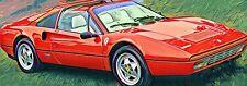 Ferrari 308 328  GTB  GTS  F40  Bj 1975 – 1989  Frontscheibe grün + Blaukeil