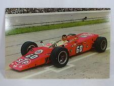 1968 Joe Leonard STP Turbine Lotus / Pratt & Whitney Indianapolis 500 Postcard