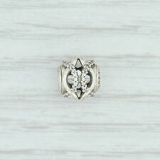New Authentic Pandora Essence Caring Charm- 796072CZ Sterling Silver Clear CZ