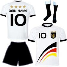 Deutschland Trikot mit Namen Set z.B. Neuer Trikot #D8ths