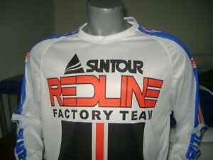 REDLINE BIKE JERSEY CLASSIC DESIGN BMX JERSEY RACE BIKE SHIRT BMX VINTAGE XL Blu