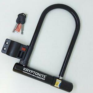 Kryptonite Keeper Lock -  Original STD Bicycle Bike Cycle U Lock D Shackle