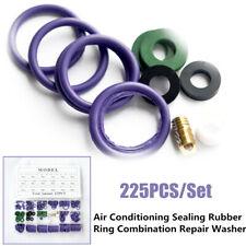 225xCar Air Conditioning Sealing Rubber Ring Set Car Air Refrigerant Trim Repair