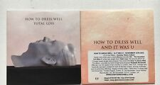 HOW TO DRESS WELL - AND IT WAS YOU + TOTAL LOSS 2 X  PROMO CD